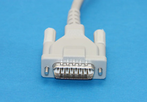 10 Lead Ekg Cable For Schiller Banana 4 0 15 Pin With 10k Resistance Compatible