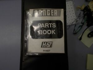 Allied Systems Ranger H67 Log Skidder Parts Book Manual
