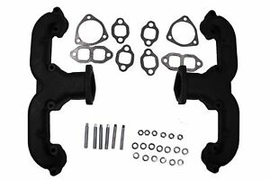 Smoothie Rams Horn Exhaust Manifolds Headers For Sb Chevy 283 305 327 350 400