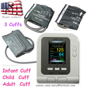 Us Digital Blood Pressure Monitor nibp adult child pediatric sw sphygmomanometer