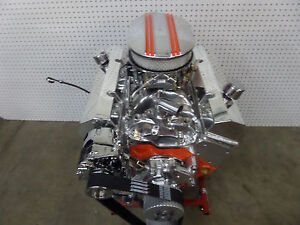 350 Chevy Turn Key Hi Performance Engine 350 Plus Hp Crate Motor