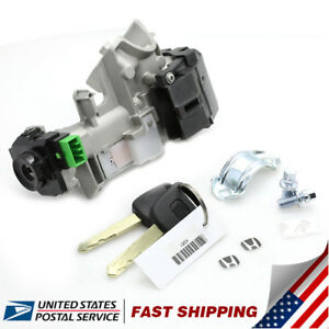 Ignition Switch Cylinder Lock Auto Trans For Honda Accord 2003 2005 With 2 Keys