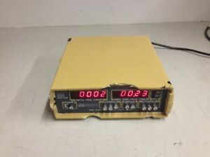 Valhalla Scientific 2101 Digital Power Analyzer V A W Meter Damaged Plastic