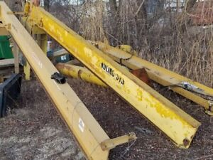 1 Ton Handling Systems Inc Free Standing Jib Crane 11 Hook Height 190 Arm