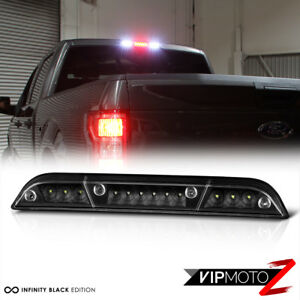 15 18 Ford F150 Full Led Black Replacement 3rd Third Brake Cargo Lamp Tail Light