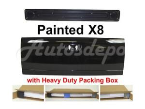 Painted X8 Black Clear Tailgate Access Panel For Dodge Ram Pickup 2002 2008
