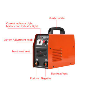Portable Igbt Dc Inverter Welder Equipment Welding Machine Single Phase 220v