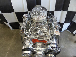 Chevy 350 Turn Key Hi Performance Forged Roller Engine 400 Hp Cr Ehro 32