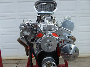 Chevy 383 Turn Key Stroker Roller Engine 400 Plus Hp Cr Ehro 07