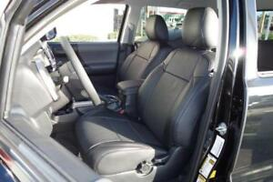 Clazzio Synthetic Leather Seat Covers For 2012 2015 Toyota Tacoma Double Cab