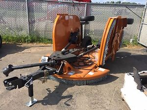 New Woods Bw12 12 foot Dual Wing Batwing Mower