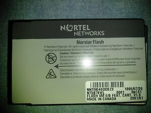 Norstar Flash 1 9 E s Software Only Nt5b78wl For Dr5 Dr5 1 Cics mics Dr4 0 7 1