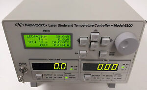 Newport 6100 Laser Diode Controller With Tec