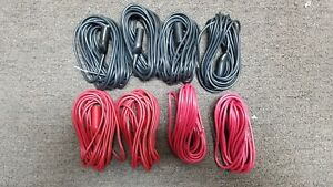 Pomona Cables With Alligator Clips Lot Of 8