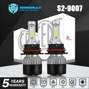 9007 Led Headlight Bulbs Kit For Dodge Ram 1500 2500 3500 2003 2005 Hi Low Beam