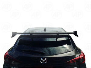 Fit Mazda 3 M3 5dr Hatchback 2014 2017 Rear Spoiler Wing Unpainted Knight Sport