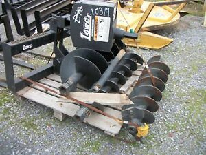 2018 Lowe 1650clh Skid Steer Post Hole Digger Skid Steer Augers