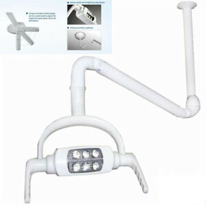 6 Led Lamp Ceiling Dental Oral Light With Mount Arm For Surgical Operating 8w Us