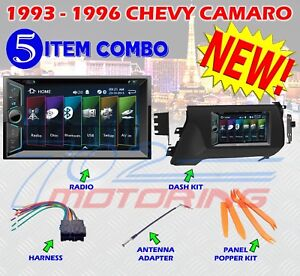 1993 1996 Chevy Camaro Double Din Car Stereo Dash Installation Kit Vr 624b Bt