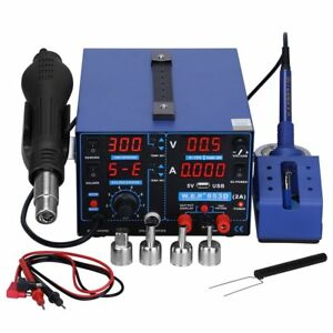 Kedsum 3 In 1 853d 700w Digital Display Lead free Soldering Station With Pid Hot
