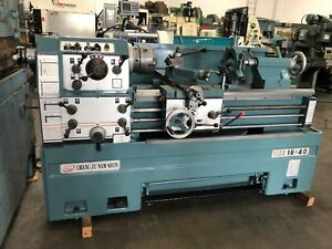Acra Turn Namseon 16 24 X 40 cc Gap Bed Engine Lathe