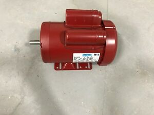 Leeson 1 5hp Electric Motor single Phase 60hz 115 208 230v