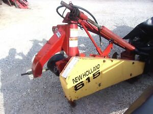 Used New Holland 615 7 Ft Disc Mower Can Ship 1 85 Per Mile