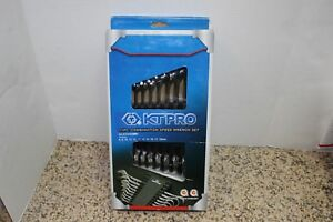 Kt Pro 11pc Combo Wrench Set 8 18mm New Unopened