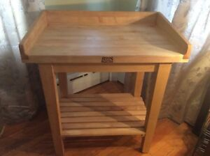 John Boos White House Table Wh01 0 Butcher Block Table