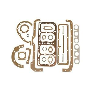 Model A Ford Engine Gasket Set 21 Pieces With Us Made Fel Pro Copper Head