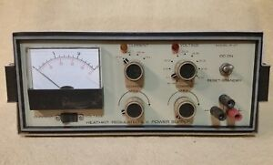 Heathkit Regulated Low Voltage Power Supply Model Ip 27 Variable 50v 1 5a