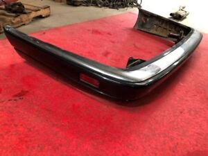 95 97 Jaguar Xjr 4 0l Supercharged Complete Black Rear Bumper Assembly W Trims