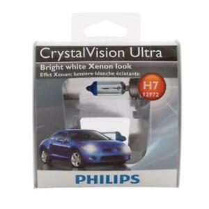 2pack Philips H7 55w Crystal Vision Ultra Cvs2 Xenon Hid Look Headlamps