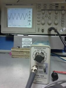 Tektronix 134 Current Probe Amplifier Tested Oscilloscope Voltage Amplifier