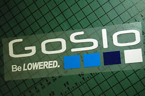 Go Slo Be Lowered Sticker Decal Vinyl Jdm Euro Drift Lowered Illest Fatlace