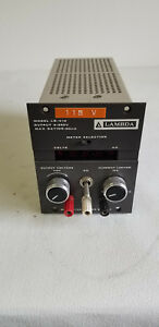 Lambda Regulated Power Supply Output 0 250v Model Lq 415