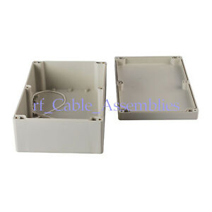 2x Big Waterproof Plastic Box Case Electronic Project Enclosure Diy 230 150 85mm