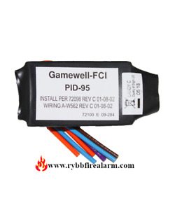 Gamewell Fci Pid 95 Or Gwpid 95 Identification Device Free Ship The Same Day