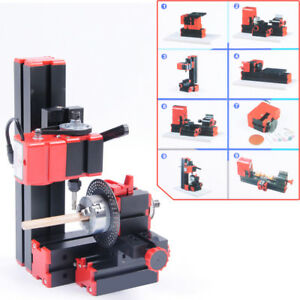 Glf Cnc Mini Classic Lathe Tool 8 In 1 Milling Machine Sawing Driller Grinder