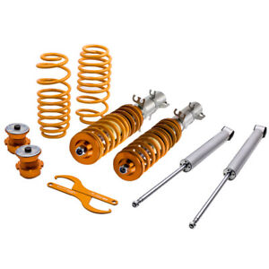 Adjustable Street Coilovers For Vw Golf Mk4 2wd Only A4 1998 2005 Coil Springs