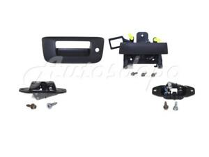 Tailgate Hadle Bezel Latch Release For Chevy Silverado 2007 2013 With Keyhole