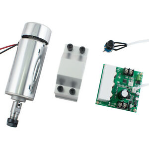 Cnc 0 4kw Safty Use Air Cooling Spindle Motor Er11 mach3 Pwm Controller mount