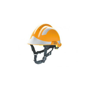 Msa F2 X trem Helmet Orange C w Sticker Pack silver M1