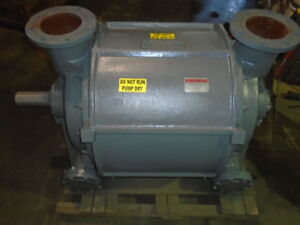 Nash Vacuum Pump Liquid Ring Vacuum Pump Cl 3002 100 Rebuilt With Warranty
