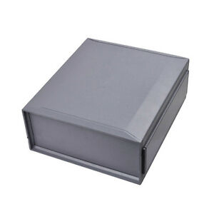 2x Plastic Enclosure Connection Box Project Case 210x240x100mm Instrument Shell