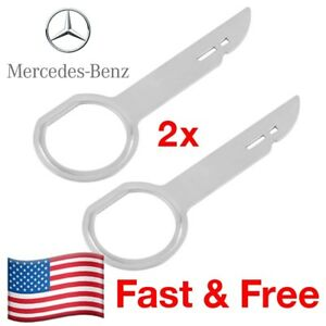 Mercedes Radio Climate Control Removal Tool Release Key Set