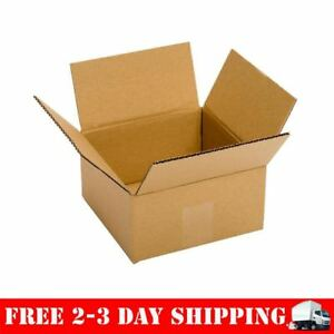 Small Cardboard Boxes 6x6x4 25 Pack Shipping Storing Gift Mailing Storing Lids