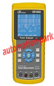 New Dw 6092 Three phase Power Harmonic Analyzer Real Time Data Logger Meter