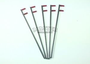 5 Pcs Dental Bitewing Indicator Arm X ray Xcp Style System Arm Red Color Coded