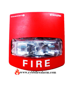 New Simplex Pid 49vo wrfo Wall Red Fire Alarme Strobe Free Ship The Same Day